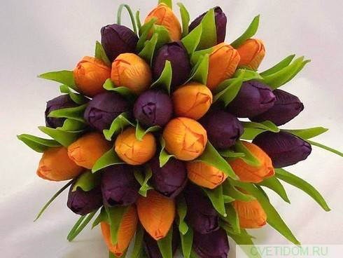 Какие цветы сочетаются в букете