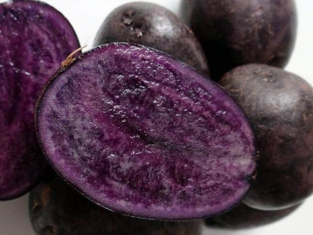 Картофель фиолетовый полезные свойства