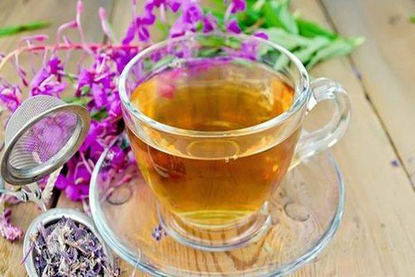 Цветки иван чая