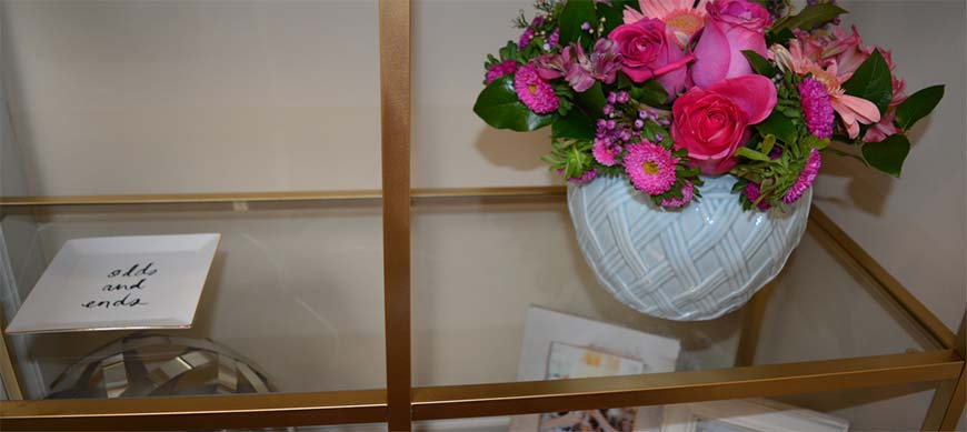 Напольные полки для цветов