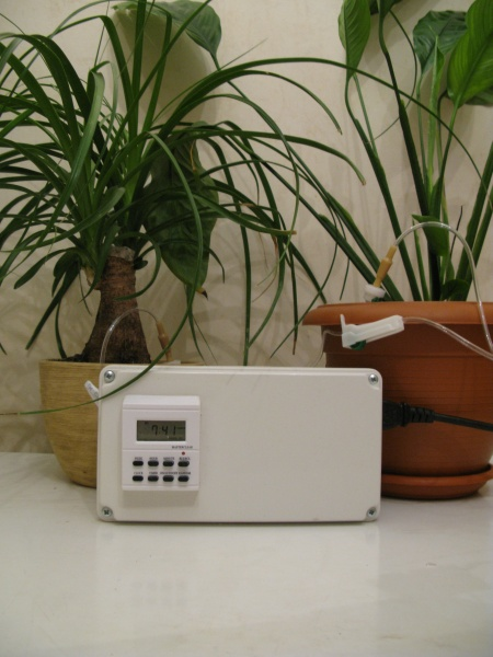 Автополивалка для комнатных растений